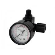 """Nyomásmérő óra 0-10bar, membránházba építhető, 1/8""""x1/4"""""""