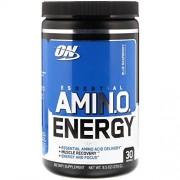 OPTIMUM NUTRITION On Amino Energy, On, Sabor Frambuesa Azul 30 servicios, 270g