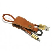 USB data kabal Pendant za Iphone lightning zlatni