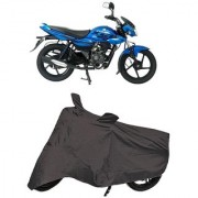 De AutoCare Premium Quality Grey Matty Two Wheeler Bike Body Cover for Bajaj XCD 125cc
