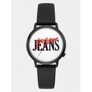 Guess Analoog Horloge Met Veelkleurig Logo - Zwart - Size: T/U