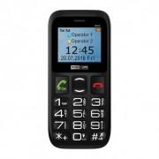 Maxcom MM426 mobiltelefon, dual sim-es kártyafüggetlen, bluetooth-os, fm rádiós fekete