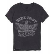 King Kerosin Ride Fast Negro XL