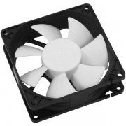 Ventilator Cooltek Silent Fan 80, 80mm (Alb/Negru)