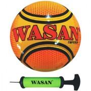 Wasan Emperor Football -Yellow Free Pump
