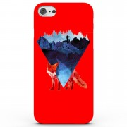 Robert Farkas Risky Road Fox Phone Case for iPhone & Android - 4 Colours - Samsung Galaxy S6 - Red