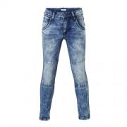 name it KIDS Nittimbo slim fit jeans met extra kniestukken (jongens)