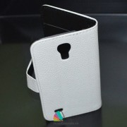 Toc Portofel Piele Ecologica Samsung i9190 Galaxy S4 Mini Alb