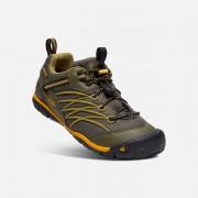 Keen Chandler Cnx Wp - Dark Olive/Citrus - Chaussures Randonnée 4