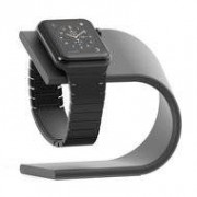 Apple watch stand aluminum - donker grijs