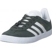 adidas Originals Gazelle J Legivy/ftwwht/ftwwht, Skor, Sneakers & Sportskor, Låga sneakers, Grå, Barn, 37