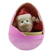 Wenasi New Creative Hatch Egg Santa Claus and Snowman Revival Eggs,Will Be Hatched in The Water(Random style)