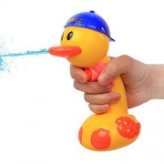 Cute Squirt Gun,Water Pistol for kids Adults Water Gun Party Games,Lovely Duck Shape Yellow Bath Outdoors Toy