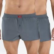 BLACKSPADE Anthracite férfi alsónadrág 100%-os pamut 2 db-os csomagolás