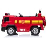 Masinuta electrica de pompieri Fire Truck Red