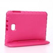 Shop4 - Samsung Galaxy Tab A 10.1 (2016) Hoes - Kids Cover Worker voor Kinderen Roze