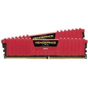 DDR4, KIT 16GB, 2x8GB, 2400MHz, Corsair Vengeance™ LPX Red, CL14 (CMK16GX4M2A2400C14R)