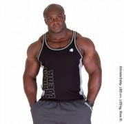 Gorilla Wear Dunellen Tank Top Black/Grey - XXXL