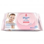 Toalhas Umedecidas Johnson`s Baby Extra Cuidado Com 48 Un