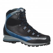 La Sportiva Trango Trk Leather GTX - Carbon/Dark Sea - Bottes Randonnée 44