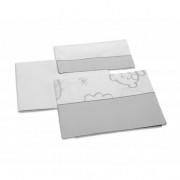 MicunaJogo de Lençóis Dolce Luce Cinzento 120 x 60 cm