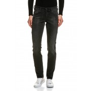 Diesel Stretch-Jeans, Relaxed-Skinny Fit grau