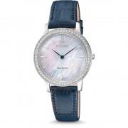 Ceas dama Citizen EX1480-15D Eco-drive Sapphire and Swarovski Crystals