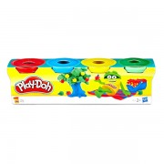 Set plastilina mini cu 4 culori Play-Doh