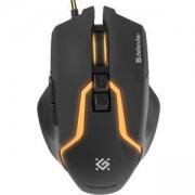 Геймърска мишка Defender Warhead GM-1750 optical, 7 buttons, 1200/1600/2400/3200 dpi, 30 IPS, 125 Hz, жична, 52750