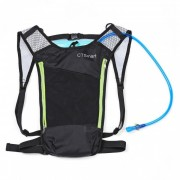 CTSmar multiusos 5L bolsa de agua al aire libre montanismo mochila impermeable - negro + verde