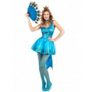 Vegaoo Pfau Kostüm für Damen