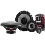 "Set de Medios Focal Acces de 160 Watts 6.5"" 165AS3 de 3 Vias Gama Alta"