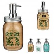 Dispenser din sticla sapun lichid jungla-maro