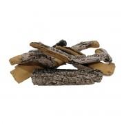 Maisonfire Set finta legna Maison betulla 5 pezzi