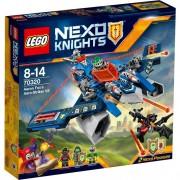 Lego - nexo knights - l'aero-jet v2 di aaron (70320)
