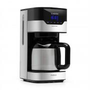 Klarstein Arabica 800W, aparat de cafea, EasyTouch Control, argintiu/negru (TK8-Arabica-T)