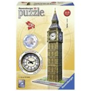 Puzzle 3D Big Ben With Clock (216 Pcs)