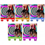 Sticker Adesivo Solúvel Neon Petit Cherry