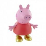 Figurina Peppa in bocanci Purcelusa Peppa