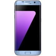 "Telefon Mobil Samsung Galaxy S7 Edge, Procesor Octa-Core 2.3GHz / 1.6GHz, QHD Super AMOLED Capacitive touchscreen 5.5"", 4GB RAM, 32GB Flash, 12MP, 4G, Wi-Fi, Dual Sim, Android (Albastru)"