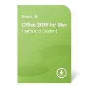 Microsoft Office 2016 Home and Student MAC számítógépre (GZA-00550) elektronikus tanúsítvány
