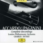 Salvatrore Accardo, Charles Dutoit, London Philarmonic Orchestra - Accardo Plays Paganini (0028946375426) (6 CD)
