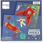 Scratch Magnetisch Puzzelboek To Go Zeemeerminnen 20st.   Scratch