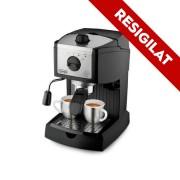 Resigilat -Espressor manual DeLonghi EC 156.B, Negru, Mecanic, 1100 W, 1-2 cesti, Negru