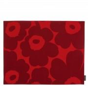 Pieni Unikko Tischset Rot H/W 19 Marimekko