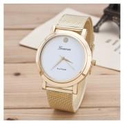 Reloj Para Dama GE De Acero Inoxidable-Dorado