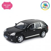 Smiles Creation Kinsmart 1:38 Scale Porsche Cayenne Turbo Car Toy, Black (5-inch)