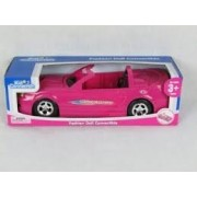 Fashion Doll Convertible-Pink Ford Mustang by Kid Connection