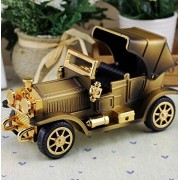 Royarebar Creative Baby Toys Music Boxes Vintage Classic Car Windup Music Box Nostalgic Music Box Home Decoration