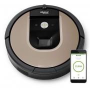 Irobot Roomba 966 Robot Aspirapolvere Senza Sacchetto 0.6l Colore Nero, Argento